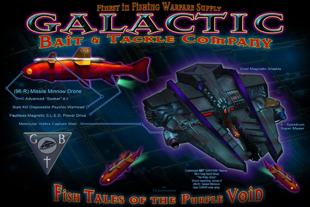 Galactic Bait & Tackle!